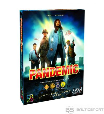 Pandemic LV galda spēle (Pandēmija)