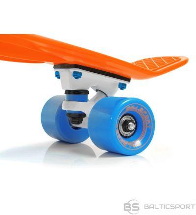 Skrituļdēlis -penny board -ātruma dēlis -Pennyboards - oranžs /zils