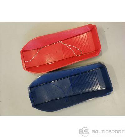 Plastmasas ragavas ECO sarkanas un zilas / sled