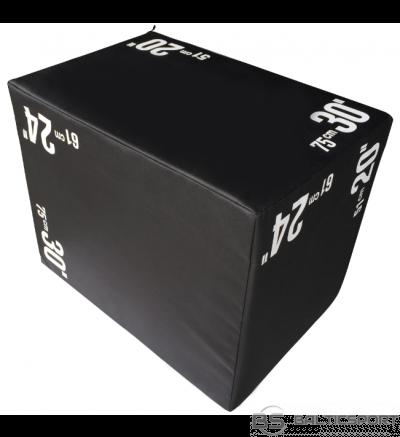 Plyo lēkāšanas kaste, crossfit kaste  mīksā - 50x61x75cm