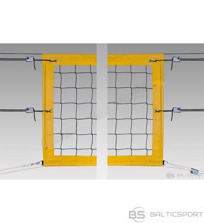 Pokorny Pludmales volejbola tīkls - 75mm perimetrs, 3mm diegs