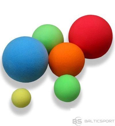 Mīksta putu bumba dažādām spēlēm - dažādi izmēri