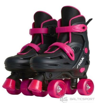 Stiga Skrituļslidas TWIRLER size 32-36, rozā/melns