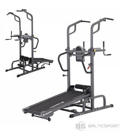 Skrejceliņš Insportline Tongu ar pievilkšanās stieni Treadmill with Pull-Up Bar inSPORTline Tongu