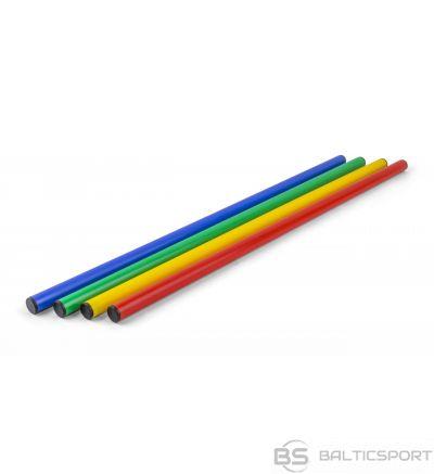 Vingrošanas, slaloma treniņu nūja - plastmasas 120cm