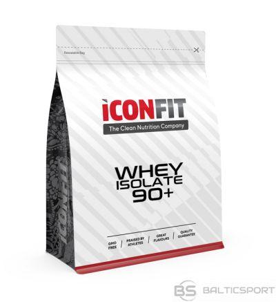 ICONFIT WHEY Isolate 90+ (1kg) Sūkalu izolāta proteīns (dažādas garšas)