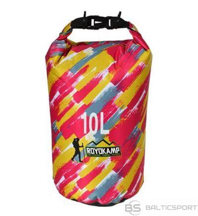 Ūdens izturīga soma 10l, Royokamp ar ūdens necaurlaidīgu materiālu