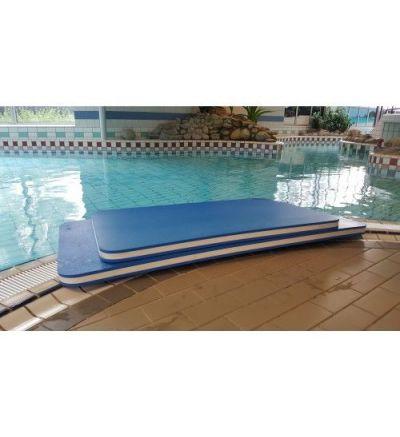 Izturīgs peldēšanas plosts baseinam - 195 x100 x 6,0cm