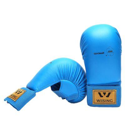 WESING Karate gloves WKF M blue