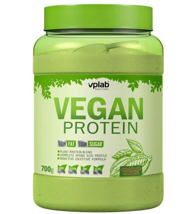 VPLab Vegan Protein 700 g - Šokolādes-karameļu / 700 g